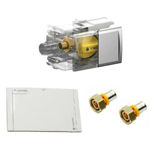 TECO Gas Valve for Multilayer to Staple and plate white