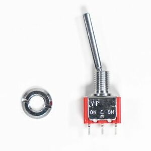 Frsky-ACCST-Taranis-Q-X7-Transmitter-Spare-Part-One-Position-Long-Toggle-Switch