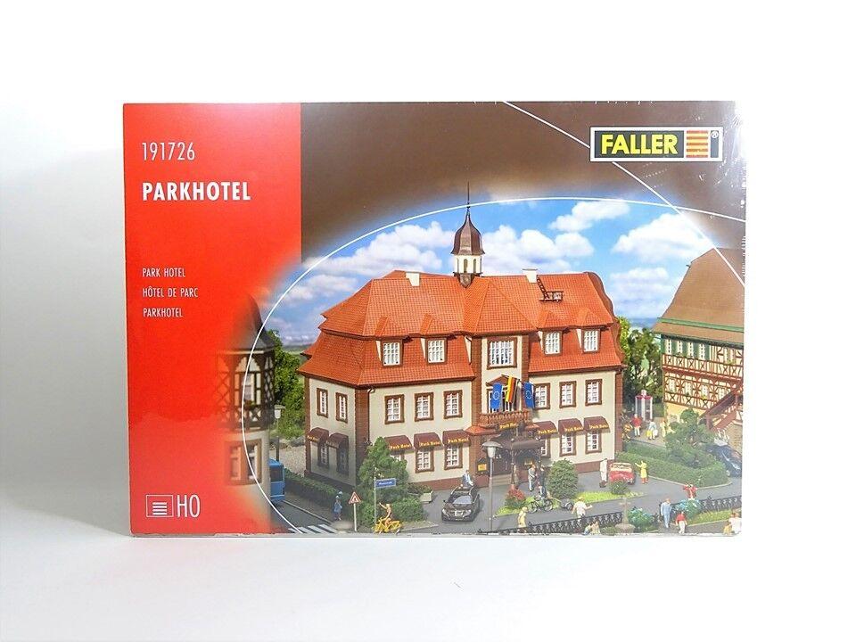 Faller h0 191726, Park Hotel, nuevo, embalaje original