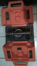 Vintage David White Instruments 8114 Level Transit Equipment With Case