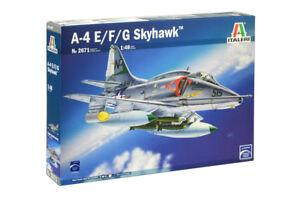 Italeri-2671-1-48-Scale-Model-Aircraft-Fighter-Kit-Douglas-A-4E-F-G-Skyhawk