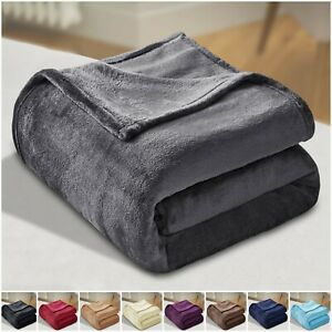 Mink-Throw-Large-Blanket-Fleece-Faux-Fur-Sofa-Bed-Heavy-Snuggle-Double-amp-King