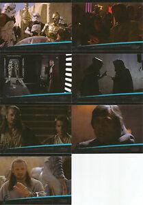 Star-Wars-Galactic-Files-Series-2-THE-WEAK-MINDED-7-Card-Insert-Set-WM-1-WM-7