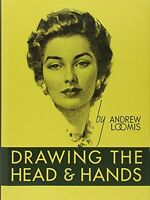 Drawing The Head And Hands By Andrew Loomis, (hardcover), Titan Books , New, Fre on sale