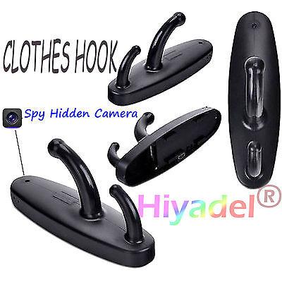 Clothes Hook Mini HD Spy Hidden Camera DVR Nanny Security Detection Video imt