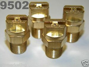 Carpet Cleaning - Brass VeeJets 9502