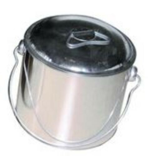 Traditional Tin Billy Can 1.5 3 6 litre Camping Kettle Water Tea Camp Hiking 4WD