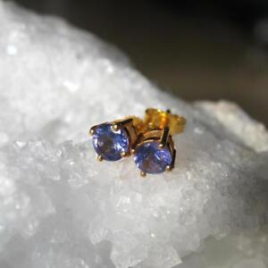 echte-tansanit-ohrringe-925-silber-vergoldet-ohrstecker-585-gold