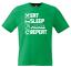 miniature 9 - Eat Sleep Mine Repeat Kids T-Shirt Boys Girls Gamer Gaming Tee Top