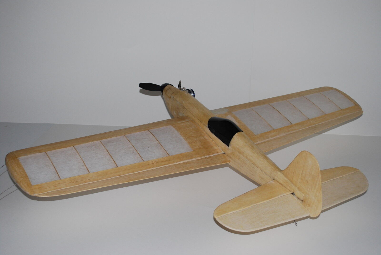 Vintage Frog Aerobat 38  Span Control Line Aerobatic Stunt Laser Cut Kit
