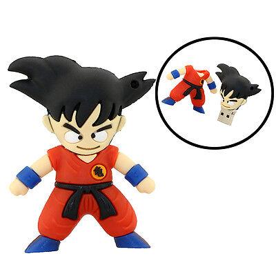 cartoon Goku model USB 2.0 Memory Stick Flash pen Drive 4GB 8GB 16GB 32GB AP154