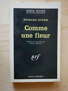 SERIE-NOIRE-808-RICHARD-STARK-Comme-Une-Fleur-EO-1963-Parker-Westlake