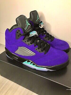 Jordan 5 Alternate Grape S Size 12