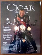 Cigar Aficionado Magazine Feb 2000 Laurence Fishburne Custom Golf Clubs Robustos