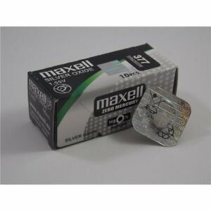 Batteria-Pila-MAXELL-390-orologi-botton-Silver-Oxide-SR1130SW-Japan-battery-watc
