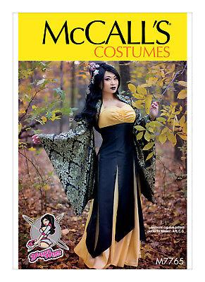 McCall/'s 7765 Sewing Pattern to MAKE Yaya Han Boleros Dresses /& Skirts Cosplay