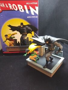 Dc-Direct-All-Star-Batman-amp-Robin-Mini-Statue-Limtied-Edition-By-Jim-Lee