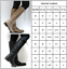 Womens-Faux-Lerather-Knee-High-Boots-Ladies-Flat-Side-Lace-Up-Winter-Shoes-Sizes