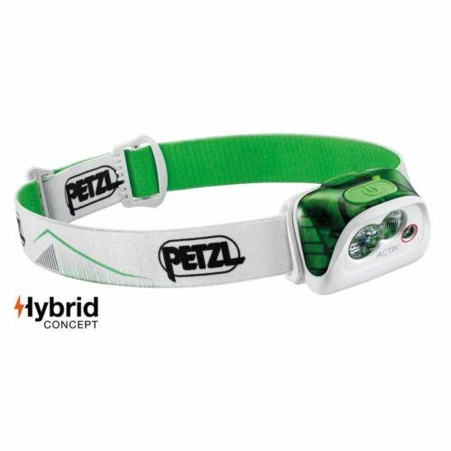 Petzl Lampe actik e99abb couleur verte avec 350 LM nouvelle version 2019