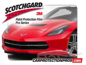 2018 Chevrolet Corvette 3m Scotchgard Pro Paint Protection Clear