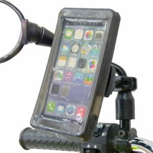 handy halter roller moped fahrrad spiegel halterung. Black Bedroom Furniture Sets. Home Design Ideas