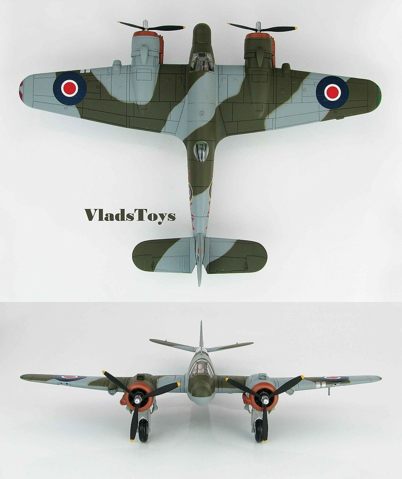 Hobby Master 1:72 Bristol Beaufighter Mk. VIF ND 211 Rojo WM-K No.68Sqn RAF HA2317