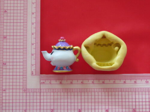 Mrs Potts Beauty Character Silicone Mold A849 Candy Chocolate Fondant Wax Resin