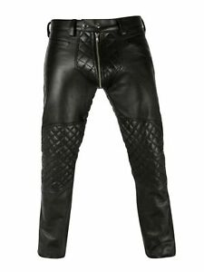 Pure-buffalo-leather-men-s-motorbike-pant-unique-style-chaps