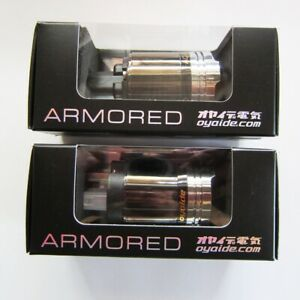 Oyaide ARMORED Series Audio Only Power Plug(AP-004) & IEC Connector(AC-004)