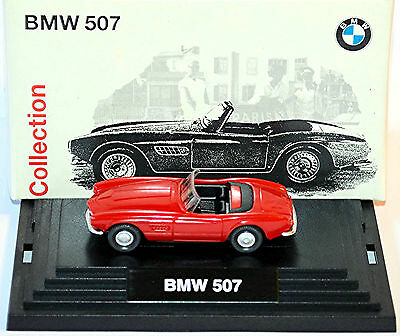 Model Building Obliging Bmw 507 Roadster 1956-59 Red Classic Collection 1:87 Wiking Cars