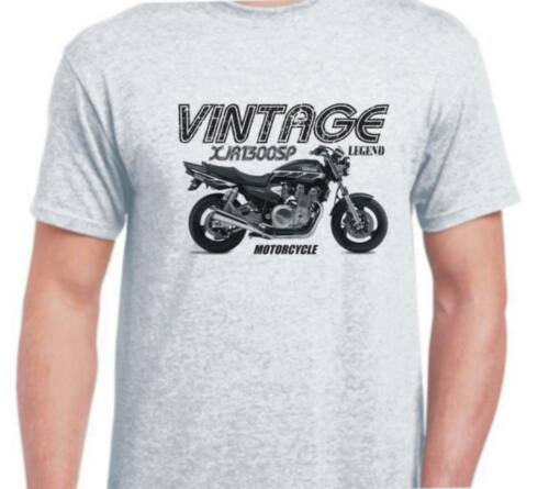Yamaha XJR1300SP 99 inspired vintage classic motorcycle bike shirt tshirt