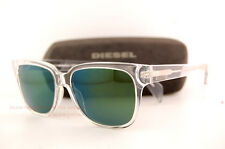 Brand New Diesel Sunglasses DL 0074 Color 26Q Crystal/ Green Men Women
