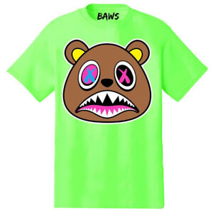 Baws-Lime-034-Crazy-Baws-034-T-Shirt