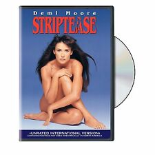 STRIPTEASE Demi Moore (Unrated Version) HOT! DVD *NEW*