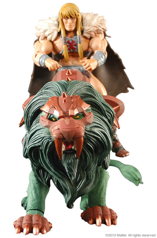 slåss Lion 2014 and Kung gråskull Andra Masters of the Universe Classics Motu New