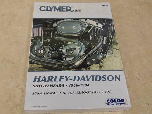 NEW HARLEY DAVIDSON SERVICE REPAIR MANUAL SHOVELHEAD 1966-1984 67 68 69 70 71 72