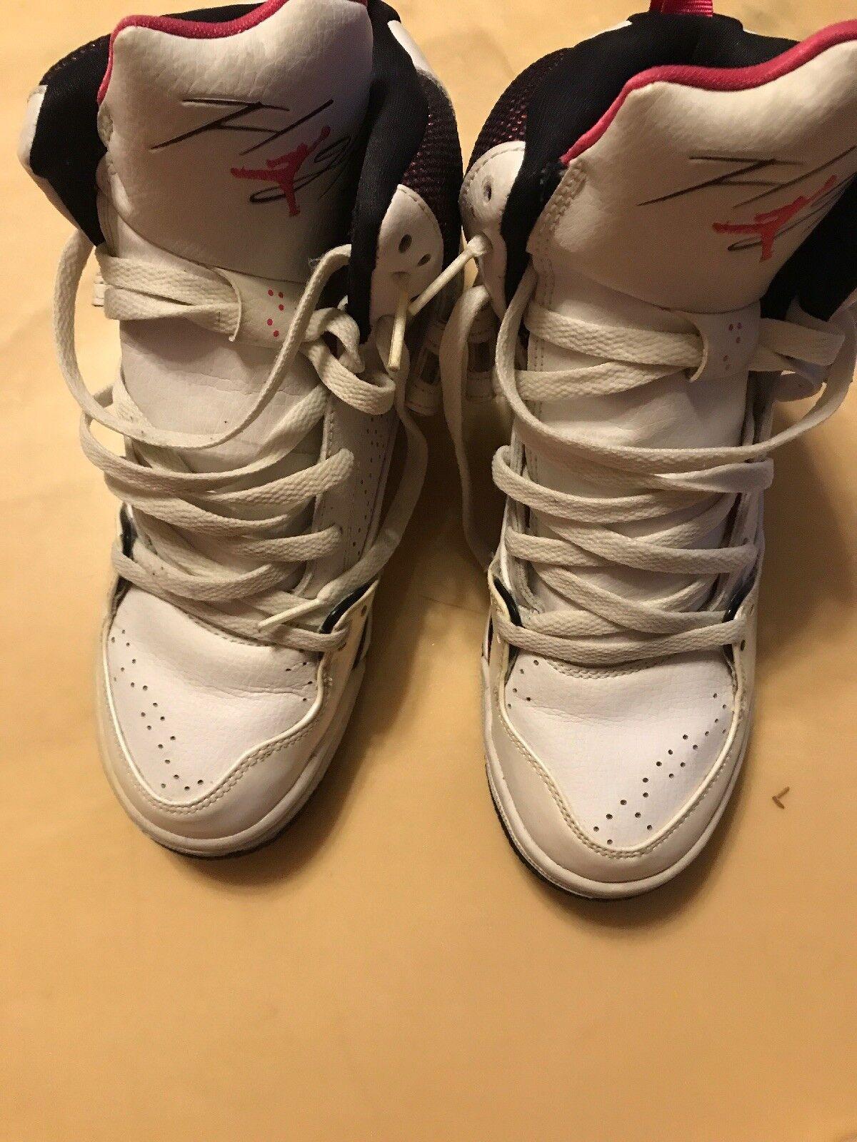 Tamaño 7 7 7 Jordan Zapatillas Whote rosado 3fc553