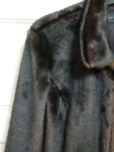 limitée Collection s fausse 4461128 M 14 Veste en fourrure marron taille IROCO0