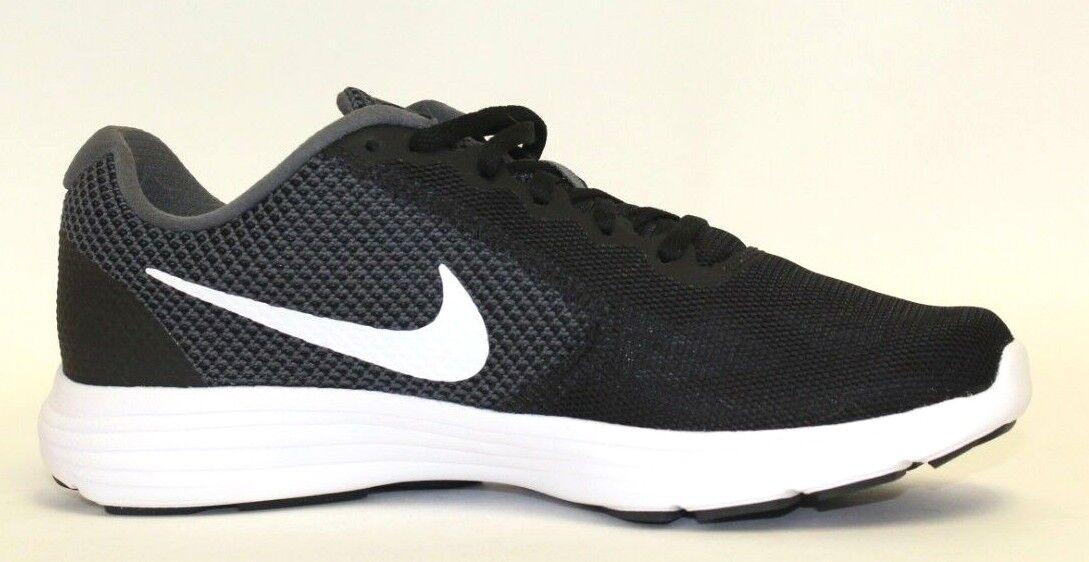 Nike Revolution 3 Running Running Running shoes (Grey Black) NEW  Men's Size  8.5 88c847