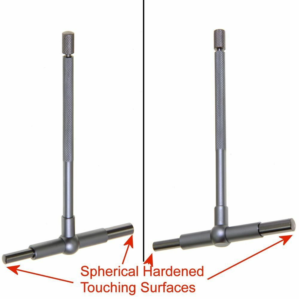 "6/"" High Precision Hardened Telescopic Cylinder Bore Gauge Set 6 Piece 5//16/"""