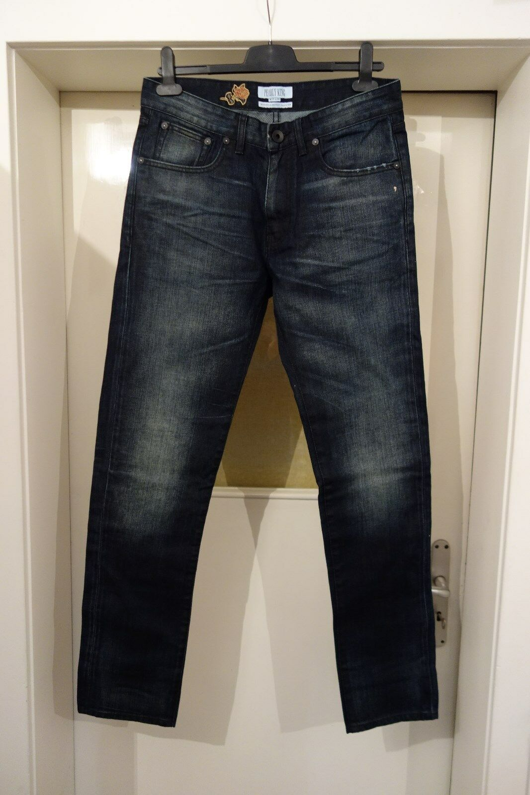 Pearly King Jeans,Dark bluee,Various Sizes