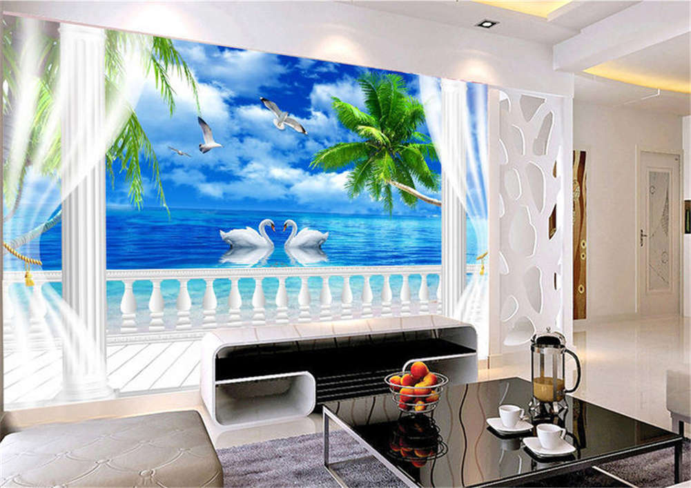 Dramatic 3d Full Wall Mural Photo Wallpaper Printing Home Kids Decor