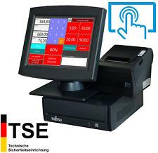 Small Tse Till Retail Gastronomy Touchscreen Receipt Printer Kiosk Ka35