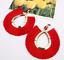 Women-Fashion-Bohemian-Long-Tassel-Fringe-Dangle-Drop-Earrings-Ear-Stud-Jewelry thumbnail 13