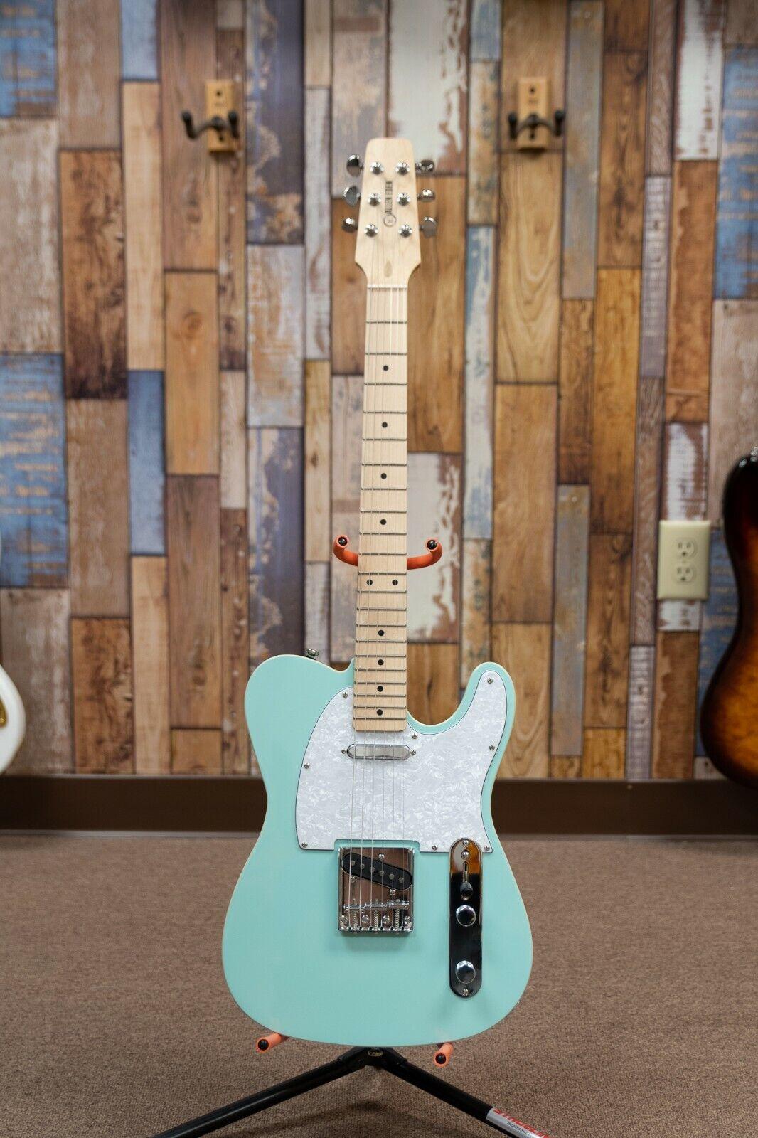 Allen Eden Guitars Riverside Tele Sonic Blau