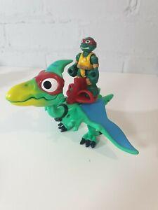 TMNT-Tartarughe-Ninja-Mezzo-Guscio-Eroi-Dinosauro-Raphael-Imaginext