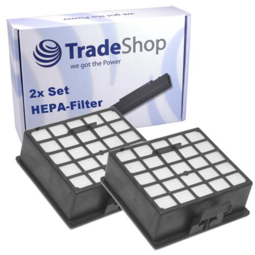 2x HEPA-Filter Ersatzfilter für Siemens SX3 Power Edition 2500W VSX32500//03
