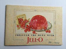1927 Jello Recipe Booklet Great Illustrations and Recipes