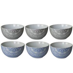 6 x Müslischalen Keramik Salatschalen Suppenschalen Dessertschalen Schalen