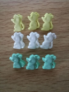 Rocking Horse buttons shape shank back baby children size 28mm Novelty